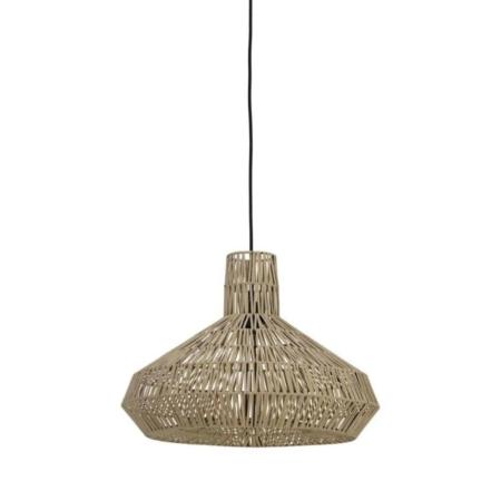Wie wil deze leuke Masey hanglamp in de kleur naturel nou niet?!