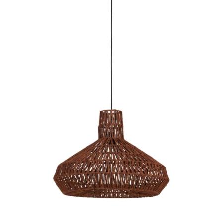 Wie wil deze leuke Masey hanglamp in de kleur terra nou niet?!