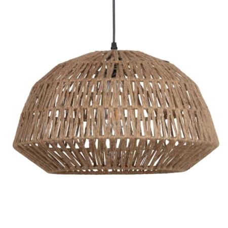 Deze warme en sfeervolle Kace hanglamp komt uit de collectie van het Nederlandse merk WOOOD Exclusive.