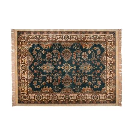 Dit mooie Raz vloerkleed van Zuiver, maakt je huiskamer helemaal af.