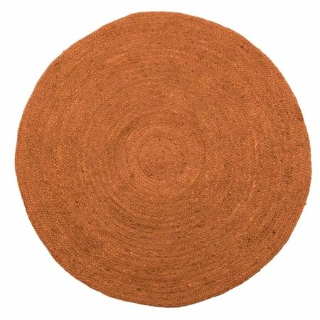 Een sfeervol vloerkleed met een warme uitstraling, dat is dit Ross vloerkleed uit de collectie van het Nederlandse merk WOOOD.