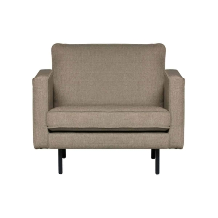 BePureHome Rodeo stretched fauteuil brown melange
