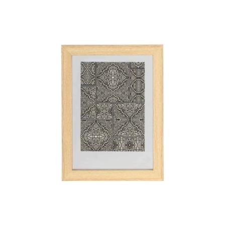WOOOD Exclusive Blake fotolijst met houten rand naturel 40x30cm