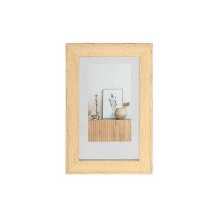 WOOOD Exclusive Blake fotolijst met houten rand naturel 30x20cm