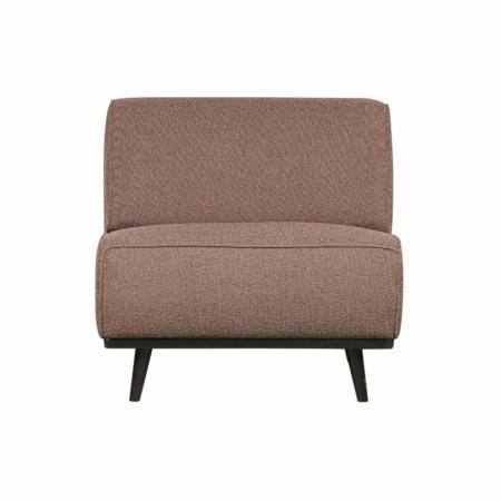 Deze Statement fauteuil uit de collectie van het Nederlandse BePureHome is puur en stoer.