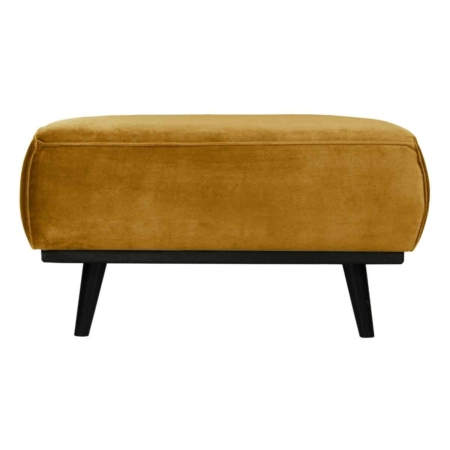 Deze hocker past perfect bij de Statement fauteuil en banken uit de collectie van BePureHome.