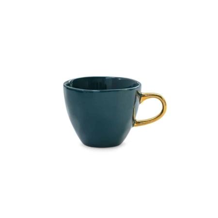 De geliefde Good Morning-kopje van Urban Nature Culture is nu ook verkrijgbaar in een kleinere versie: de Good Morning-minikopje.