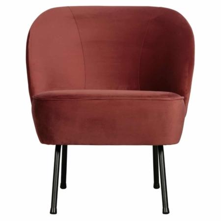 Met de Vogue fauteuil uit de BePureHome collectie haalt u een stijlvolle fauteuil in huis.