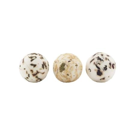 De zeepballen van Meraki zijn aromatisch en hydraterend.