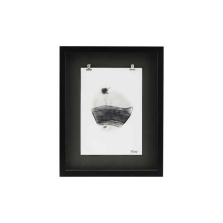 Unieke illustratie die een artistiek tintje geeft aan uw interieur.