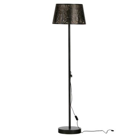 Deze bijzondere vloerlamp Keto komt uit de collectie van het Nederlandse merk WOOOD Exclusive.