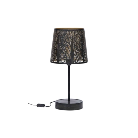 Deze bijzondere tafellamp Keto komt uit de collectie van het Nederlandse merk WOOOD Exclusive.