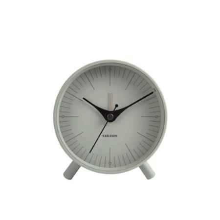 Deze eenvoudige maar strakke alarmklok van Karlsson geeft een warme uitstraling in iedere kamer.