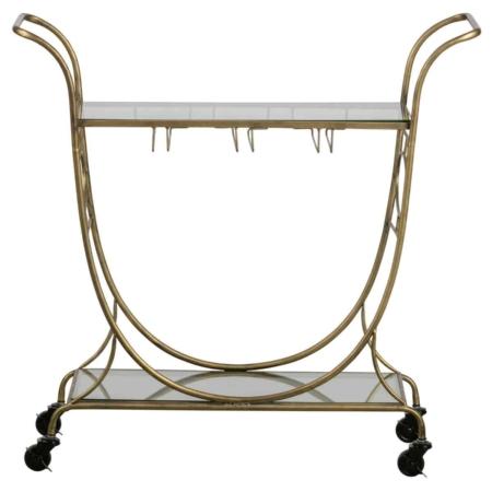Deze chique en praktische trolley Decadent komt uit de collectie van het Nederlandse merk BePureHome.