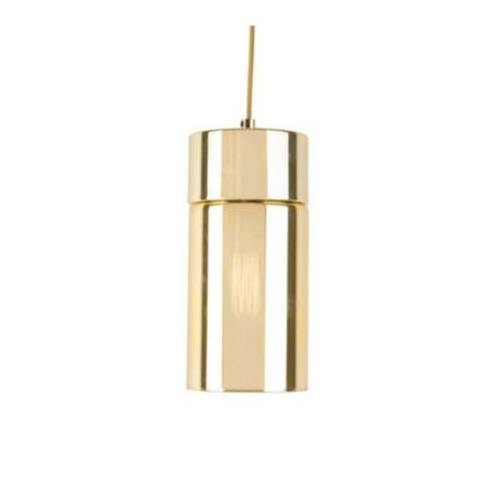 Hanglamp LAX goud spiegelend komt uit de Present time collectie.