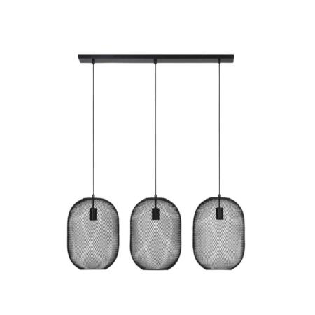 Deze hanglamp Reilley past perfect boven de eetkamertafel.