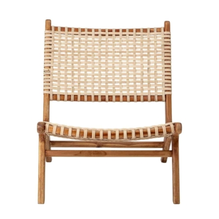 De Keila fauteuil van bloomingville past dan perfect!