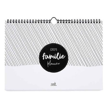 Deze handige familieplanner helpt je met overzicht houden bij alle plannen en activiteiten van het hele gezin.
