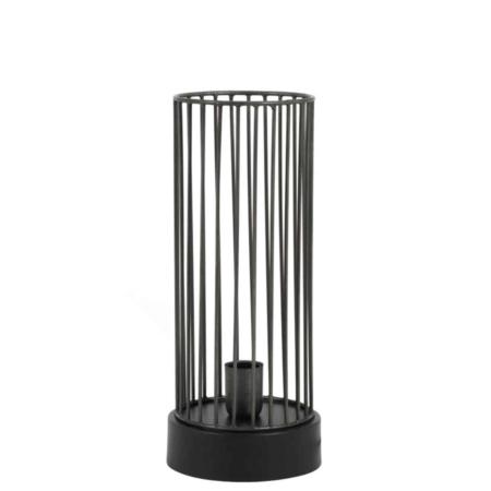 Mooi! Deze tafellamp is een echte blikvanger in je kamer.
