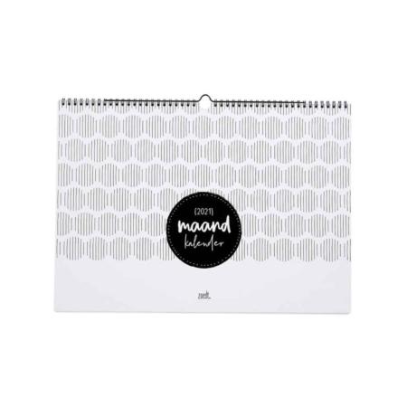 Op veler verzoek is ie er weer, de maandkalender in A3 formaat!