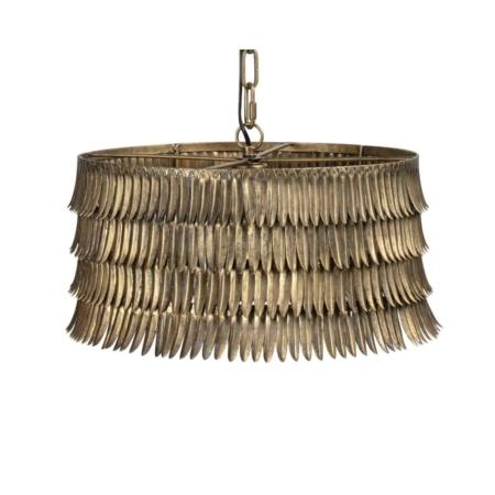 BePureHome Hawaii hanglamp metaal antique brass oslash43cm