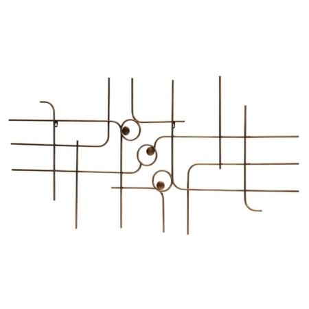 Speels en decoratief dat is deze Symphony wanddeco uit de collectie van het Nederlandse merk BePureHome