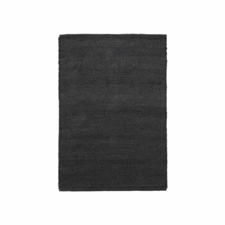 Housedoctor Hempi vloerkleed jute zwart