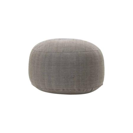 Housedoctor Tabi Poef polyester grijs bruin