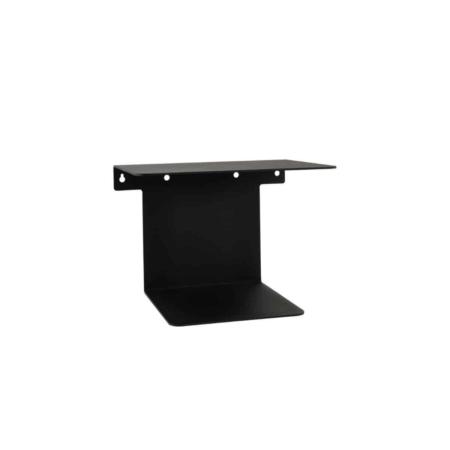 Housedoctor Boek wandplank metaal zwart
