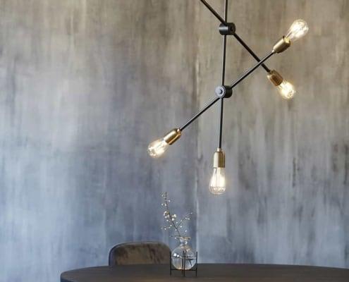 Housedoctor Molecular lamp zwart | Halzes10.nl