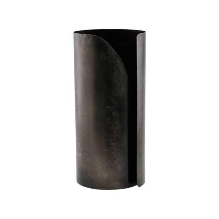 Housedoctor Wipe keukenrolhouder antiek zwart ø12x27cm