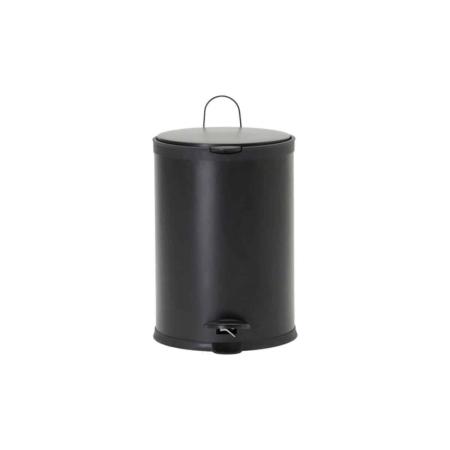 Housedoctor Eda prullenbak metaal zwart