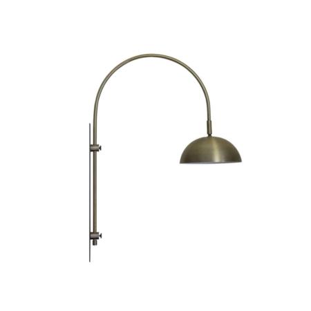 vtwonen Jupiter wandlamp antiek brons LED