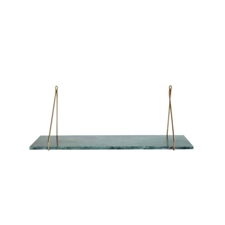 Housedoctor Marble wandplank marmer groen/goud