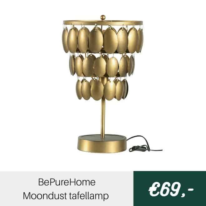 BePureHome Moondust tafellamp | Halzes10.nl