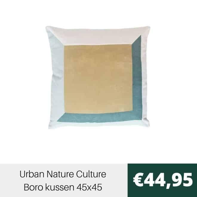 Urban Nature Culture Boro Kussen 45x45