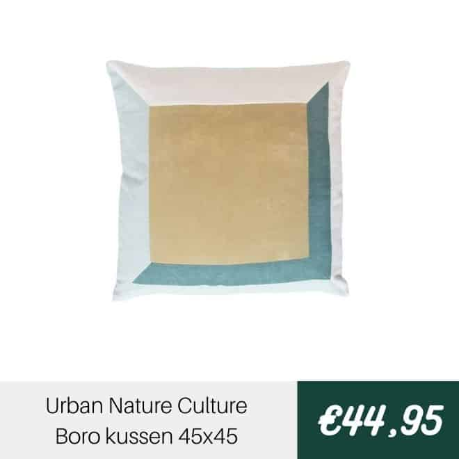 Urban Nature Culture Boro kussen | Halzes10.nl