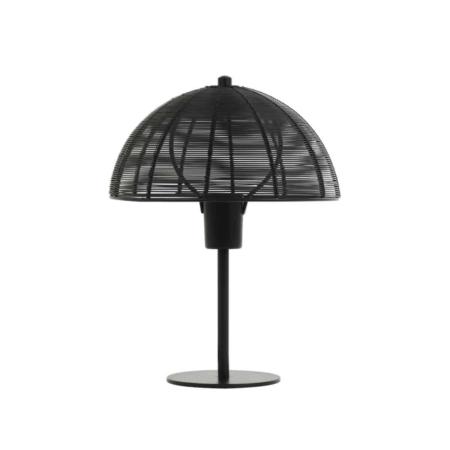 ZES10 Collectie Klobu tafellamp mat zwart 25x33cm