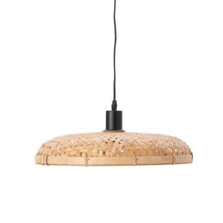 ZES10 Collectie Paloma hanglamp rotan naturel Ø 40x7,5cm