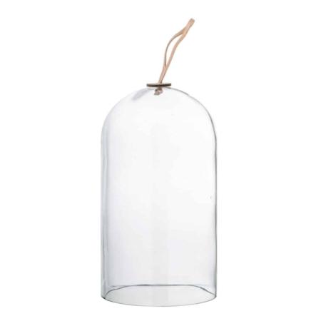 Bloomingville Nali stolp helder glas 14x25cm