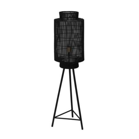 ZES10 collectie Gruaro vloerlamp metaal zwart ø32x125cm