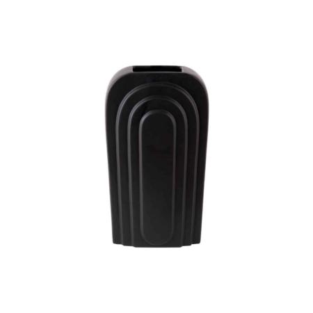 PT Arc vaas keramiek zwart S