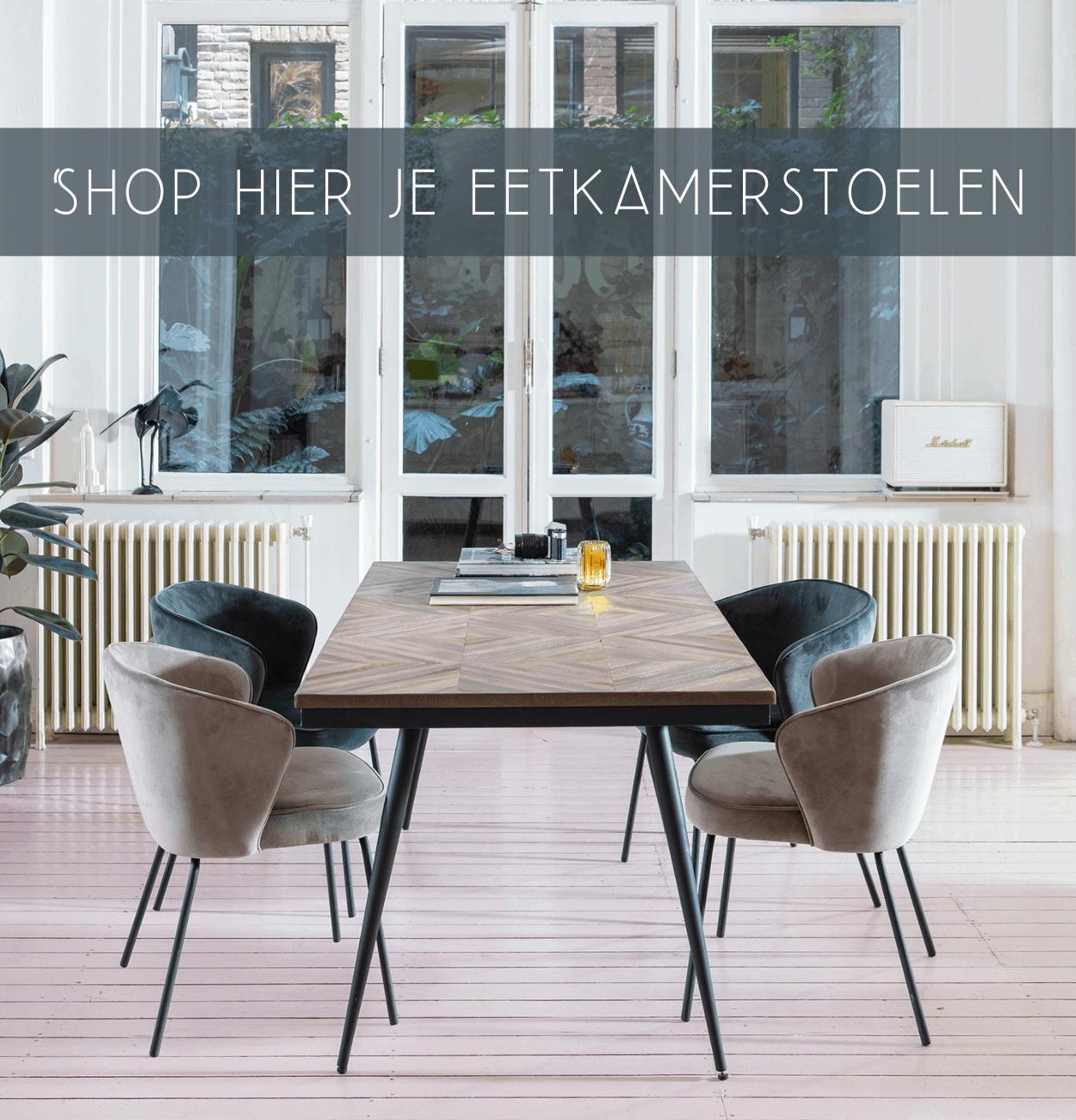 Shop hier je eetkamerstoelen | Halzes10.nl