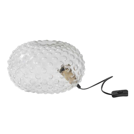 BePureHome Soap tafellamp transparant glas ø30cm