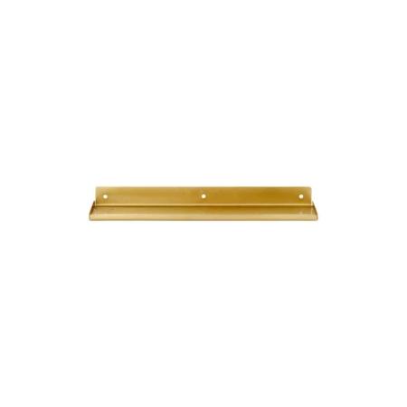 Housedoctor Ledge wandplank metaal brass