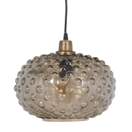 BePureHome Soap hanglamp warm groen glas ø31cm