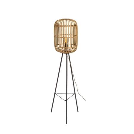 ZES10 Collectie Crazy vloerlamp bamboe naturel
