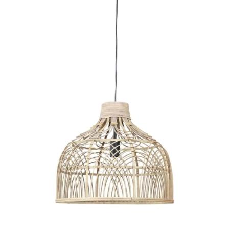 ZES10 Collectie hanglamp Pocita rotan naturel Ø48cm