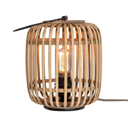 ZES10 Collectie Crazy tafellamp bamboe naturel ø20cm