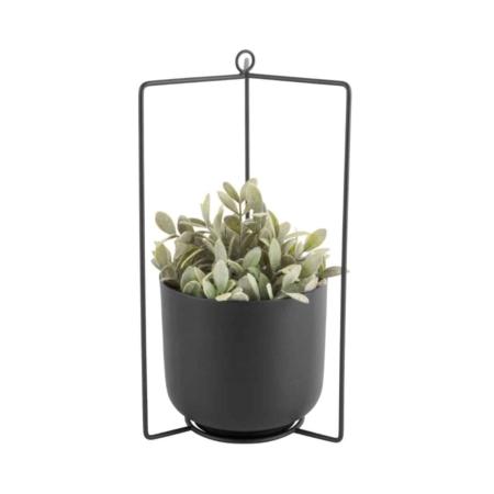 PT Hang plantenpot Spatial vierkant Zwart
